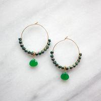 circle hoop green
