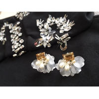 autumnflower earring
