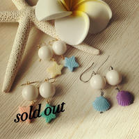 shell&starfish toy pierce