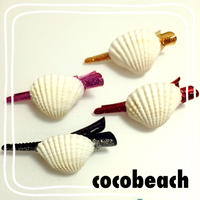 shell mini hair accessory