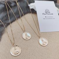 [14kgf] Jesus coin necklace