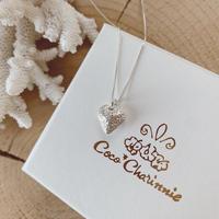 [Silver925] Flower designed love necklace