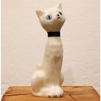 キャンドル 白猫(青い目)
