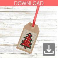 クリスマスツリー 13 | クロスステッチ図案