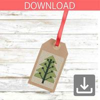クリスマスツリー 15   クロスステッチ図案