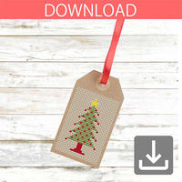 クリスマスツリー 10 | クロスステッチ図案