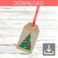 クリスマスツリー 21 | クロスステッチ図案