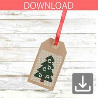 クリスマスツリー 14 | クロスステッチ図案