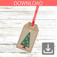 クリスマスツリー 8   クロスステッチ図案