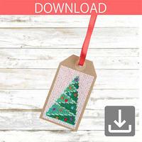クリスマスツリー 4 | クロスステッチ図案