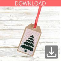 クリスマスツリー 3 | クロスステッチ図案