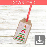 Christmas tree #2 | Cross stitch pattern