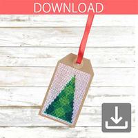 Christmas tree #6 | Cross stitch pattern