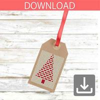 Christmas tree #16 | Cross stitch pattern