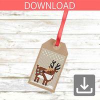 Reindeer #2 | Cross stitch pattern
