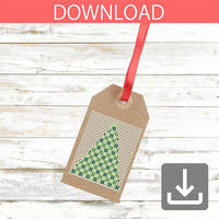 Christmas tree #23 | Cross stitch pattern
