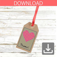 Heart #7 | Cross stitch pattern