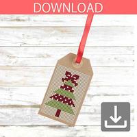 Christmas tree #9 | Cross stitch pattern