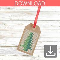 Christmas tree #22 | Cross stitch pattern