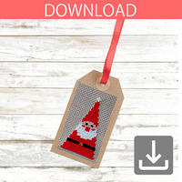 Santa Claus #1 | Cross stitch pattern