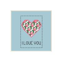Heart #3 | Cross stitch pattern