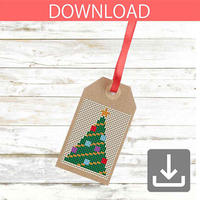 Christmas tree #21 | Cross stitch pattern