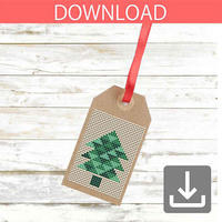 Christmas tree #18 | Cross stitch pattern