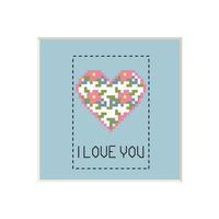 Heart #1 | Cross stitch pattern