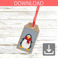 Penguin #2 | Cross stitch pattern