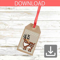 Reindeer #1 | Cross stitch pattern