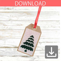 Christmas tree #3 | Cross stitch pattern