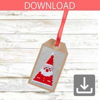 Santa Claus #2 | Cross stitch pattern