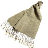 手織りスカーフ  ヤマモモ
