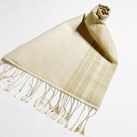 手織りスカーフ  マンゴスチン