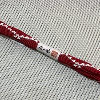 み々弥・帯締「naminami」紅色と紅白