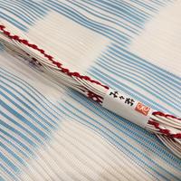 み々弥・帯締「naminami」白と紅白