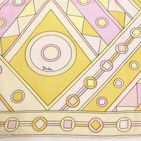 """""""Emilio Pucci""""SILKスカーフ(1970s Italy)"""