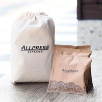 オールプレス ドリップバッグ 10個(オリジナル巾着付き)