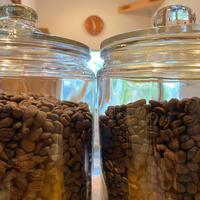 くつろぎブレンドと選べる無農薬栽培コーヒーセット (200g×2種類、税込)【ポスト便、送料無料】
