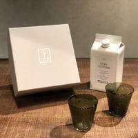 SPECIAL GIFT SET * リキッドコーヒー+グラス2個 ( グリーングレー × 2 )