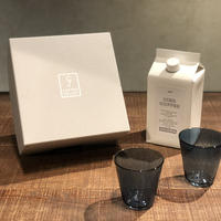 SPECIAL GIFT SET * リキッドコーヒー+グラス2個( ネイビー × 2 )