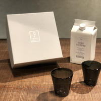 SPECIAL GIFT SET * リキッドコーヒー+グラス2個( グレー × 2 )