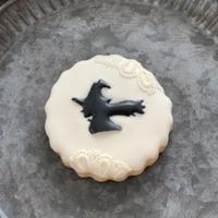 ハロウィン魔女アイシングクッキー