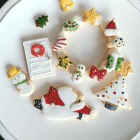 クリスマスアイシングクッキーセット