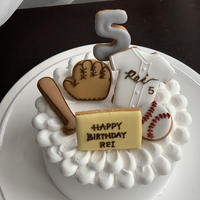 野球 お誕生日 プレゼント アイシングクッキー