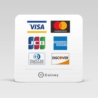 【Coiney加盟店さま限定】(T-01)スタンドPOP - カードブランド