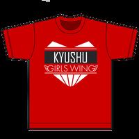 九州女子翼オリジナルTシャツ2020