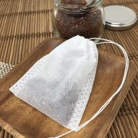ひも付きお茶パック (50枚入り) FDA基準適合不織布 ティーバッグ 7cm✕9cm