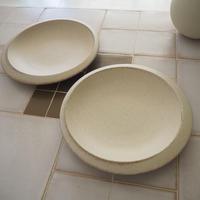 アシンメトリー丸皿