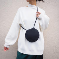 cut out big sweater WHITE